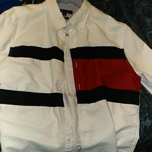 Tommy Button up long sleeve